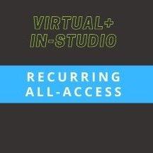 (Studio+Virtual) Recurring Solo Dance All-Access Membership