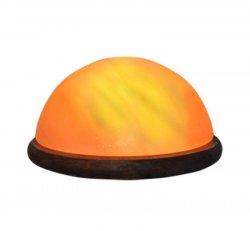 Buddha Half Dome Salt Lamp Foot Detox