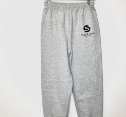 Grey Unisex Sweatpants