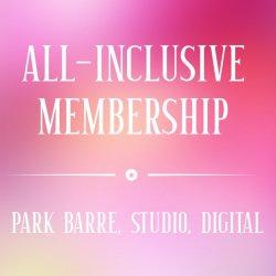 Special All Inclusive Unlimited Studio & Digital 12 Mos Membership (auto draft) $59.95mo.