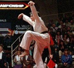 Karate Test (brown through advanced brown)