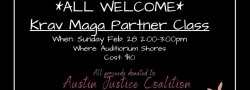 Community Krav Maga Class (Bring a Partner!-Required)