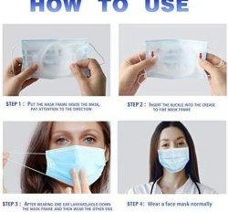 Plastic Mask Insert Bracket