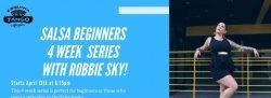 PARTNER: April Salsa Beginners 4 Week Workshop Series
