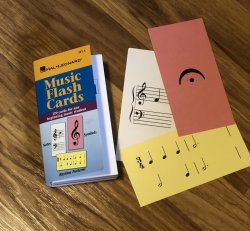 Music Flash Cards Set A - Hal Leonard