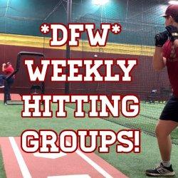 WEDNESDAY  Weekly Hitting Group  Hurst Texas (One Visit)
