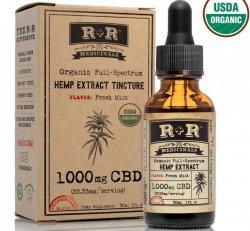 R+R Medicinals Tincture 1,000 mg