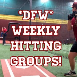 TUESDAY Weekly Hitting Group  Hurst Texas (One Visit)