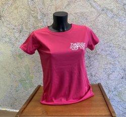 Blue Lagooners Women's Pink/White Technical (Airterx) T-Shirt