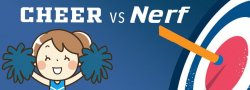 Summer Camp - Cheer vs Nerf mini edition! - Ages 4-6