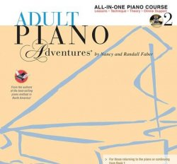 Adult Faber Piano Adventures Level 2 All-In-One Piano Course
