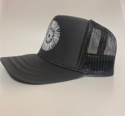 Our Yoga Charcoal Adult Trucker Hat