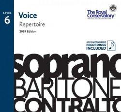 RCM Voice Repertoire Level 6 2019