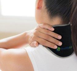 Healthyline Neck Wrap Portable Gemstone Pad