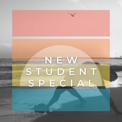 New Student Special (In Studio, Outdoor, and Online)