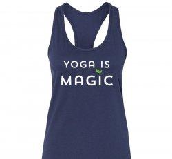 Yoga is Magic Tank - Navy
