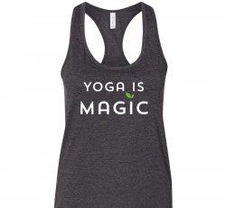 Yoga is Magic Tank - Gray