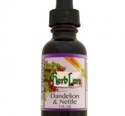 Dandelion & Nettle Tincture, 1oz