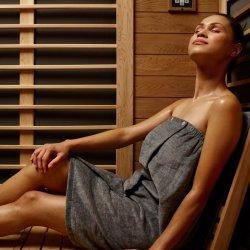 4/month 30 min. Infrared Sauna Membership
