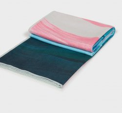 Ebb and Flow - eQua - Mat Towel - Manduka