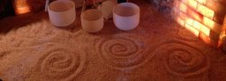 Crystal & Tibetan Bowl with Angel Harp Sound Meditation