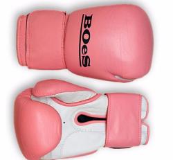 Gloves - Pink 8oz Boes Gloves