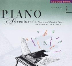 Piano Adventures Level 5- Lesson Book