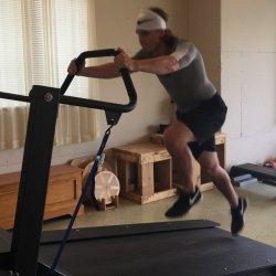 HP treadmill Semi- single