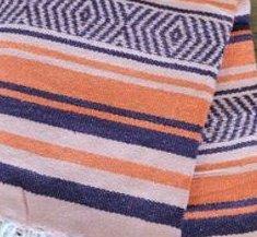 407 Yoga Blanket (Orange/Purple/Pink)