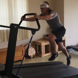 Trial semi private treadmill