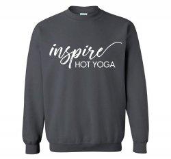 Inspire Fleece Crewneck Sweatshirt - Charcoal