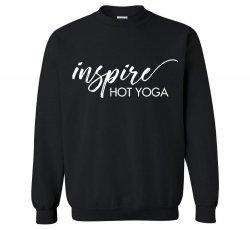 Inspire Fleece Crewneck Sweatshirt - Black