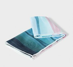 Ebb and Flow Blue Green Pink- eQua - Hand Towel