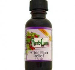 After Pain Relief Tincture, Non-Alcohol 1oz