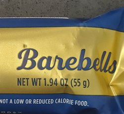 Barbell Protein Bar