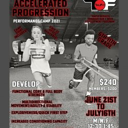 Accelerated Progression Performance Camp