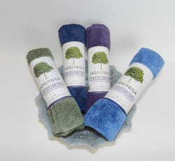 Jade Microfiber Hand Towels