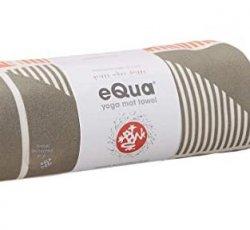 Manduka eQua Mat Towel (Handloom Gray)