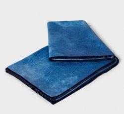 Manduka eQua Hand Towel (Camo Navy Tie Dye)