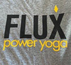 T-Shirt - Mens - FLUX logo (Grey)