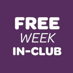 Free Week In-Club 7 day Trial