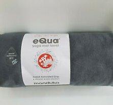 Manduka eQua Mat Towel (Thunder (Grey))