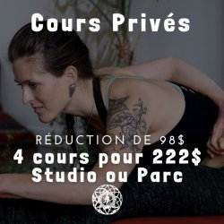 PROMO - 4 COURS PRIVÉS   4 PRIVATE LESSONS