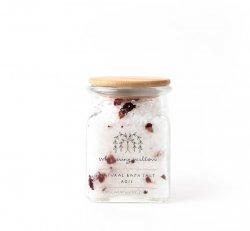 Rose Bath Salt - Glass Jar