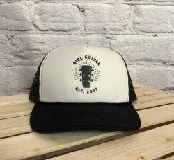 Girl Guitar Trucker Hat (Black)
