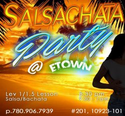 Salsachata Party @ETOWN - Fall 2021
