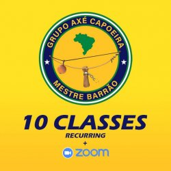 Adult Capoeira - 10 Sessions
