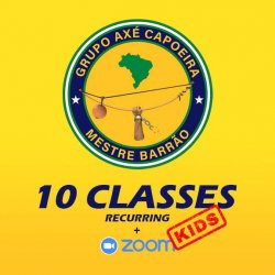Youth Capoeira - 10 Sessions
