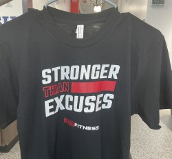 Stronger Than Excuses Tee Shirt