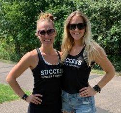 Success Women's Track-Style Tank Top